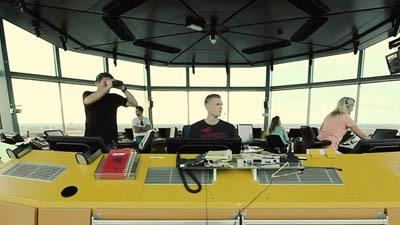 Bedrijfsfilm Luchtverkeersleiding Nederland