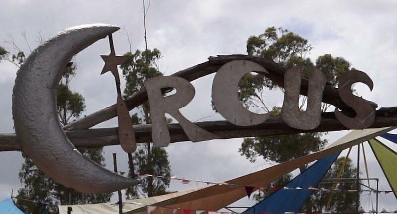 Circus festival in Australie