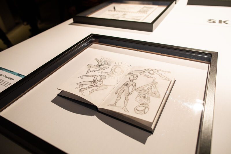 EXPO SKETCHING - INTO THE MIND OF THE ARTIST