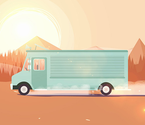 Foodtruckbooking - Animatie video