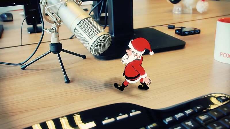 Foxmountain Christmascard 2016