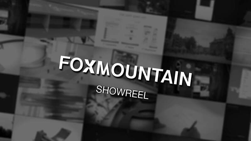 Foxmountain Showreel 2016