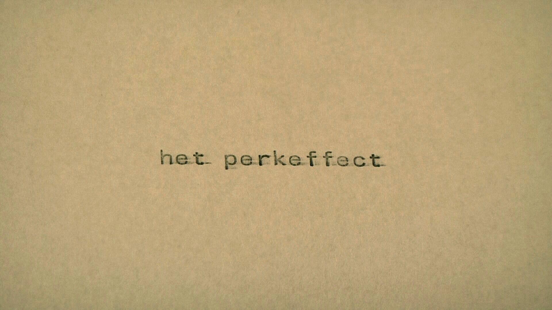 het perkeffect
