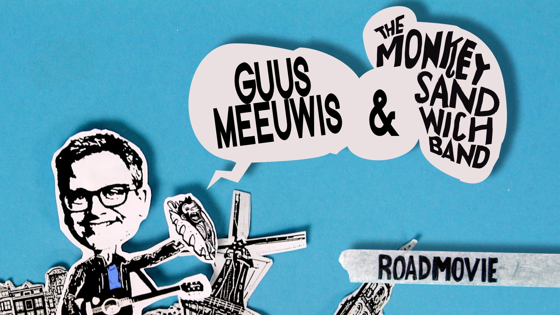 Leader/bumper - GuusMeeuwis en The Monkey Sandwich Band Clubtour-