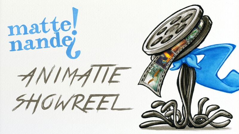 Matte! Nande? | Animatie Showreel 2020