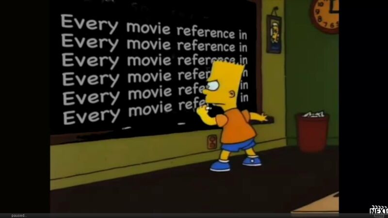 Must see: The Simpsons movie references