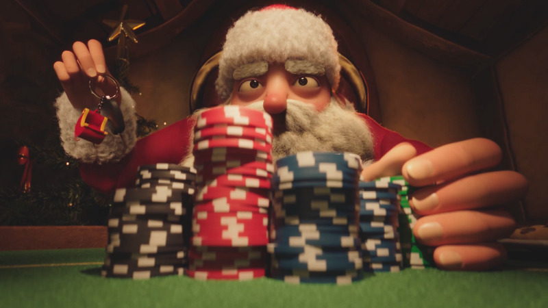 Must see: Xmas Hold 'em