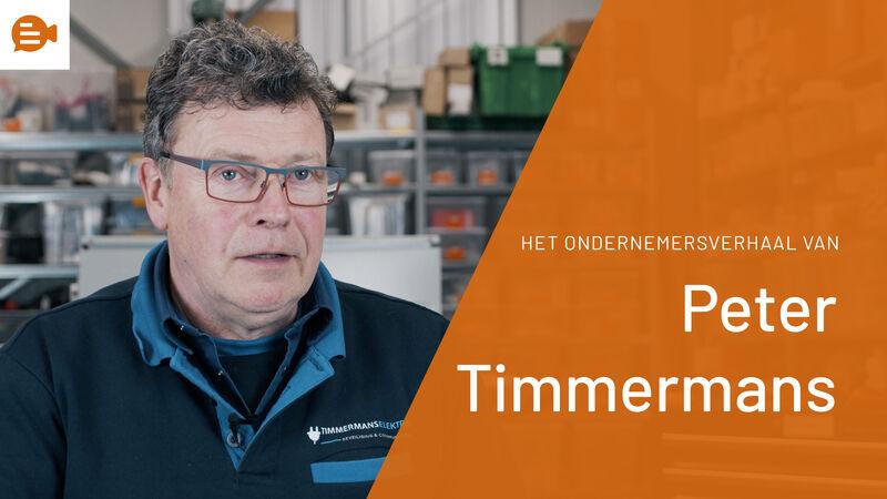 Ondernemersverhaal - Peter Timmermans
