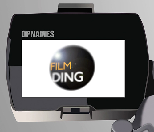 Opnames bij Filmding