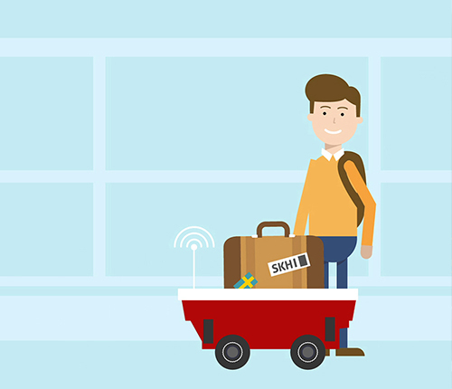 Van der Lande -  Fleet animatie video: Let's re-imagine baggage logistics!