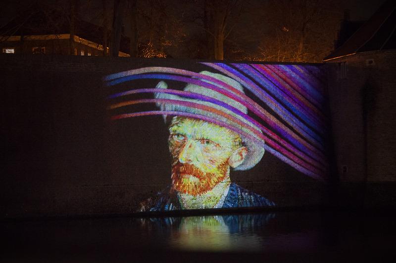 Van Gogh Projectie