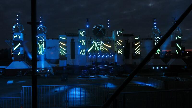 VJ optreden en content creation Intents Festival 2012