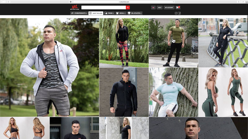 XXL Nutrition - Shop the Look